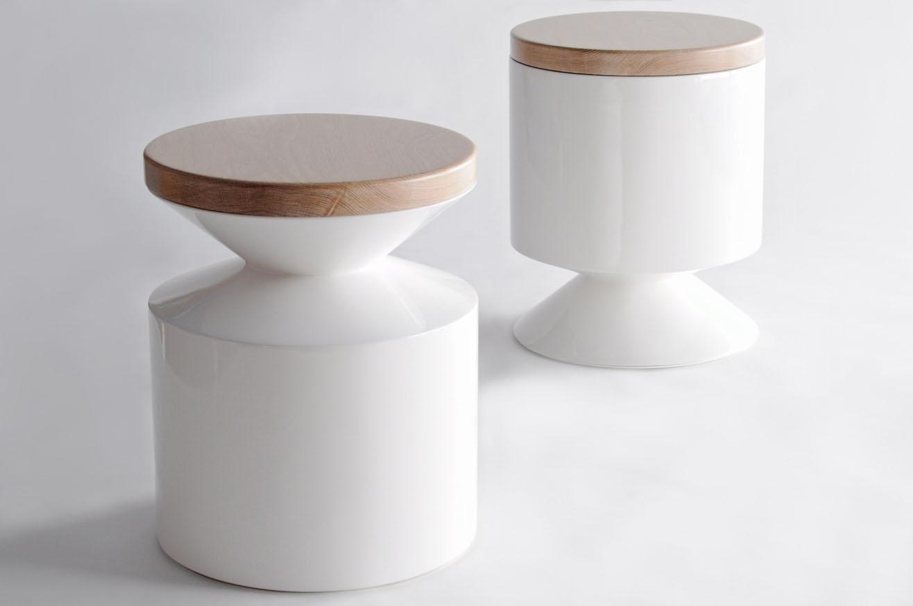 Phase Design | Reza Feiz Designer | Griffin Stool/ Side Table   Phase  Design | Reza Feiz Designer