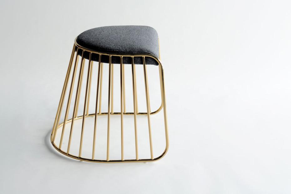 Phase Design Reza Feiz Designer Bride S Veil Low Stool