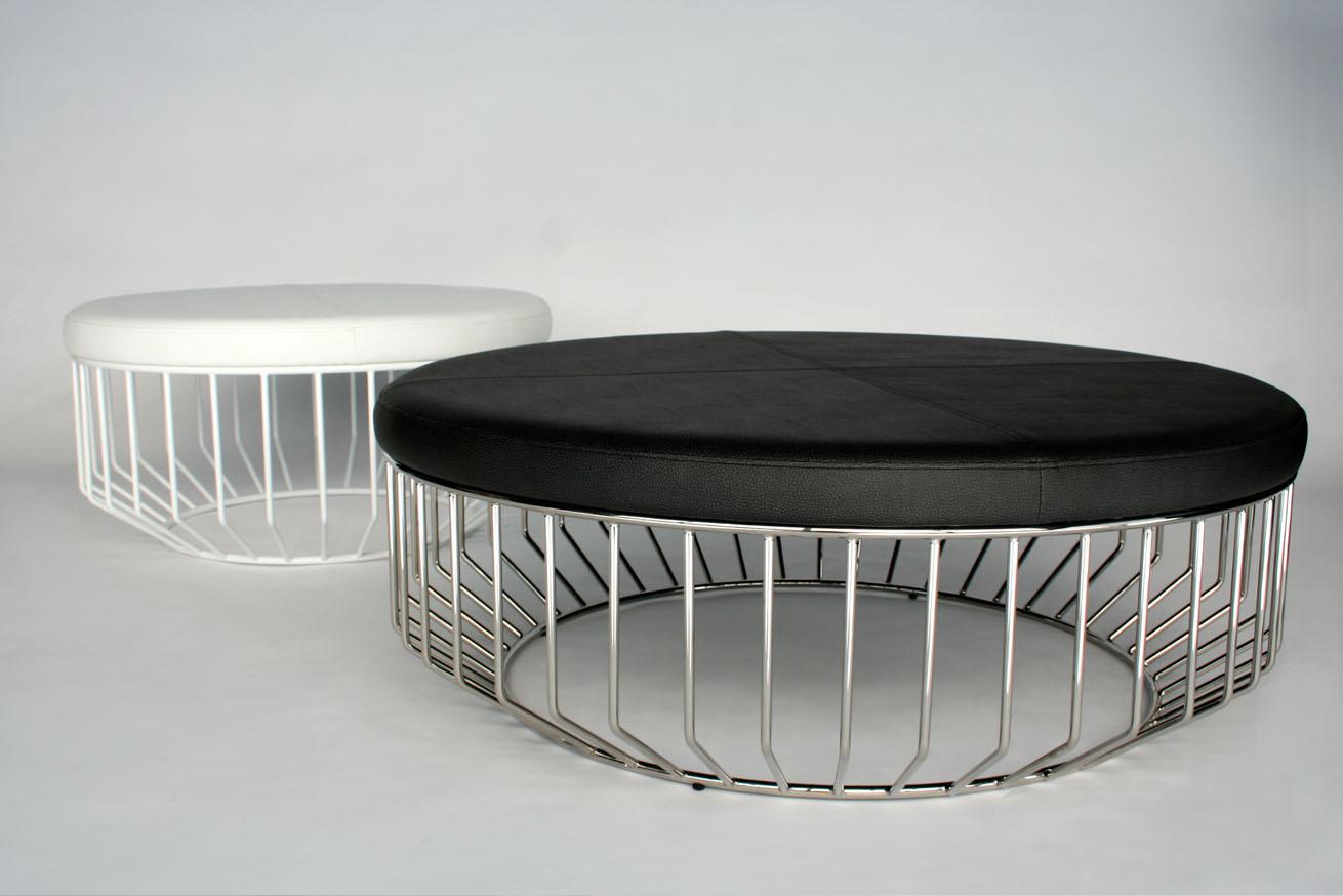 Phase Design Reza Feiz Designer Wired Ottoman Phase