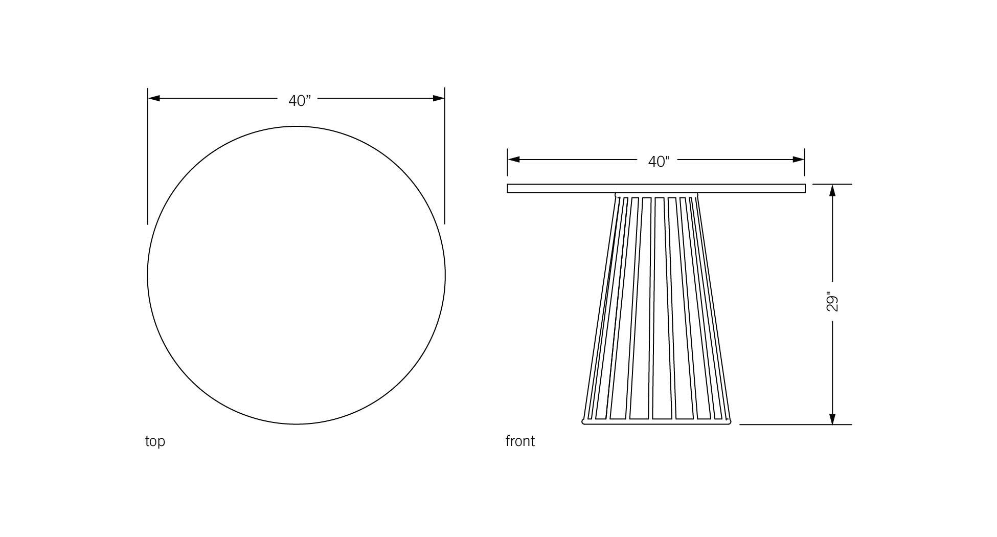 Phase Design | Reza Feiz Designer | Wired Cafe Table - Phase Design ...