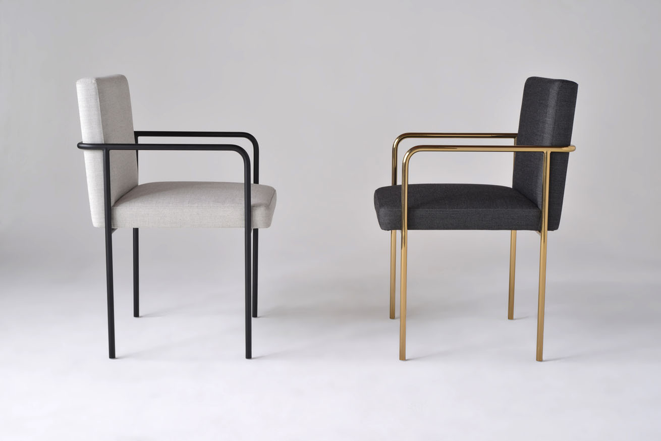 Phase Design Reza Feiz Designer Trolley Side Chair Phase