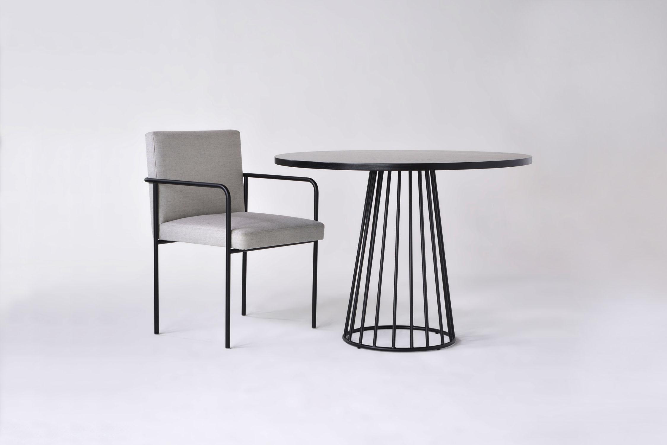 Phase Design Reza Feiz Designer Trolley Side Chair