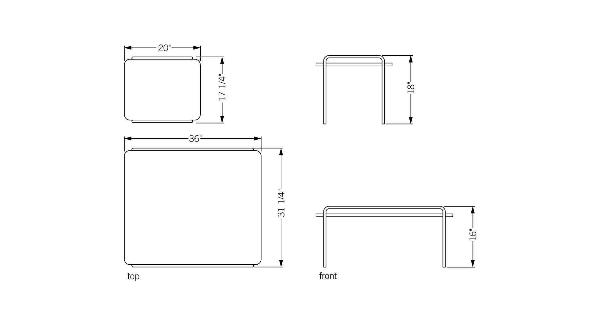 Phase design reza feiz designer trolley tables phase for Table sheet design