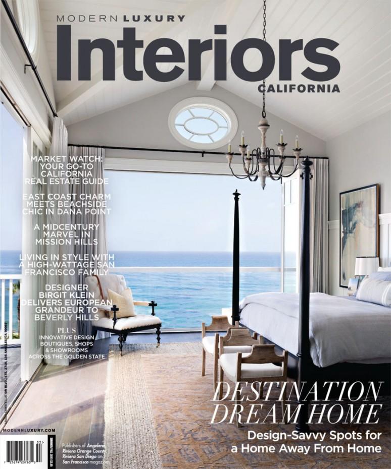 2015 Summer-Fall Modern Luxury Interiors Cover