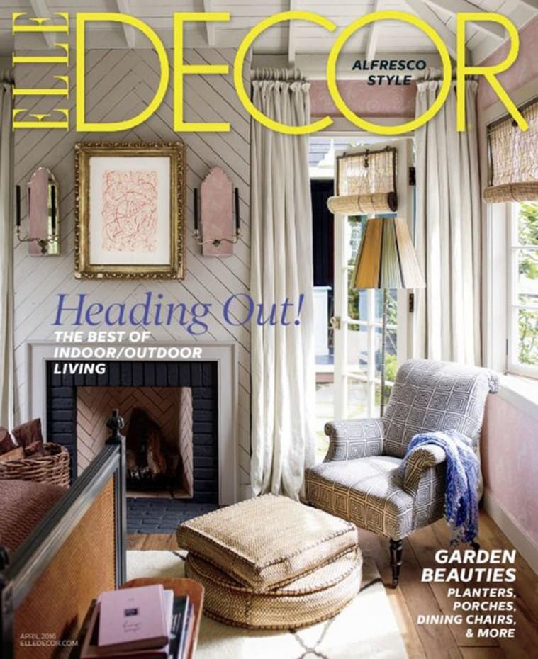 2016-April-Elle Decor Magazine-Cover