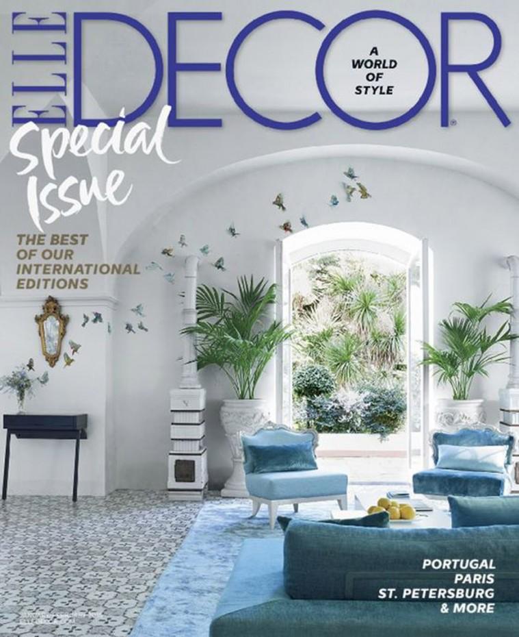 2016-Jan-Elle Decor Magazine-Cover