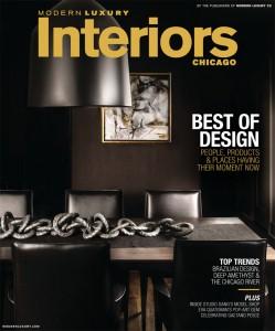 Modern Luxury Interiors Chicago Jan 2017 Cover